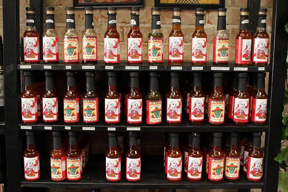 Balsamic Chiltepin Hot Sauce. 5 oz, 12 case pack